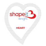 Heart Design of the Shape it Designs Sugar Sachets