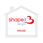 House Design of the Shape it Designs Sugar Sachets